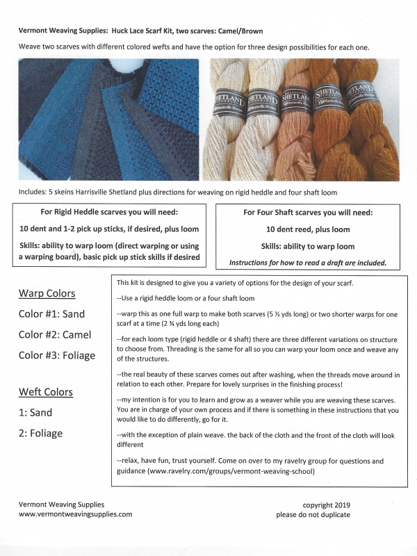 Lace Scarf Manual Guide